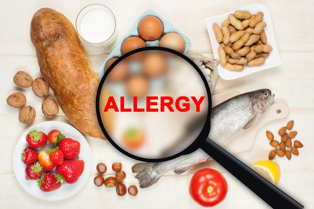 Аллергия в виде крапивницы