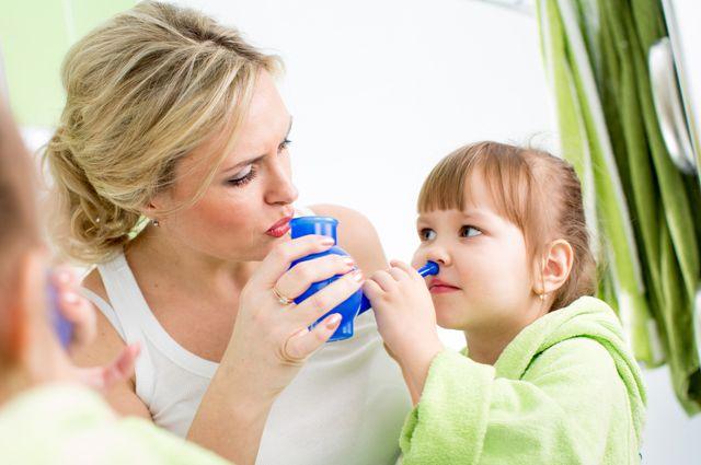 Аденоиды у ребенка 2 года