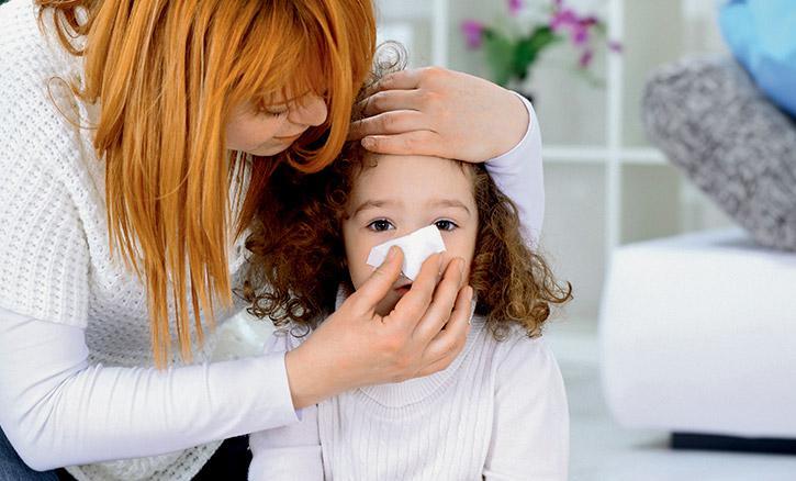Аллергия на сухой воздух