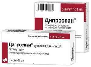 Дипроспан от аллергии
