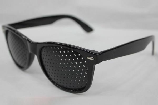 Сетчатые очки при колобоме