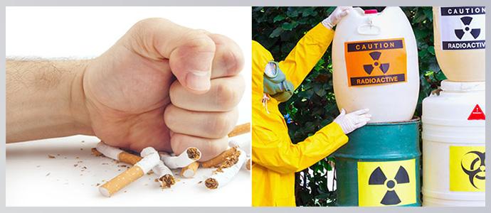 Отказ от никотиновой зависимости и минимизировать контакт с вредными веществами