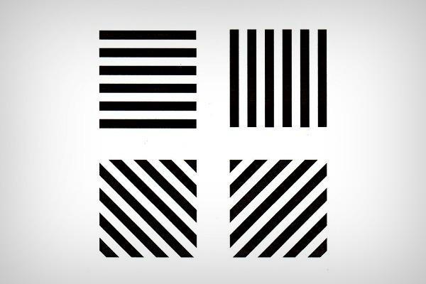 Тест с параллельными линиями