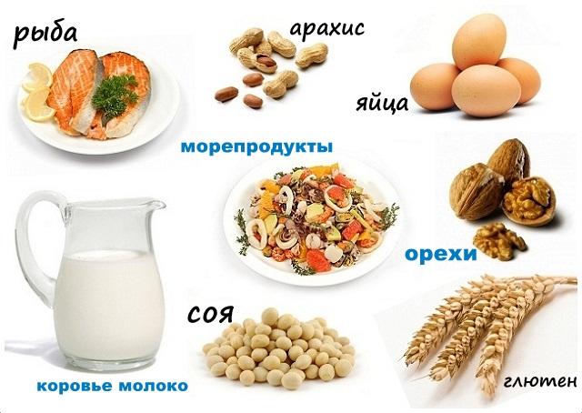 Продукты против аллергии