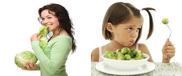 Аллергия на капусту