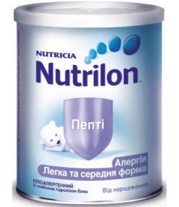 Нутрилон Пепти от аллергии