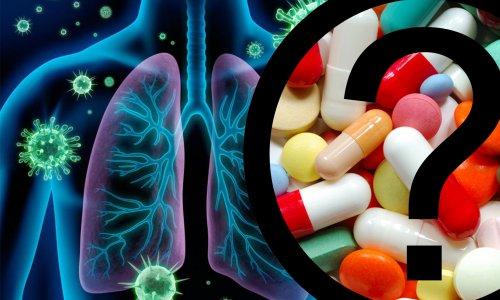 Антибиотики от трахеита