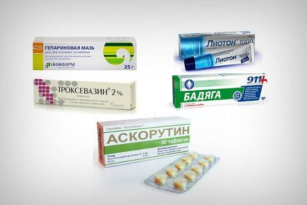 Препараты для лечения и профилактики кровоизлияния под глазом