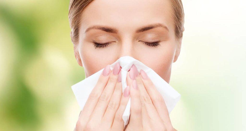 аллергические проявления у взрослого