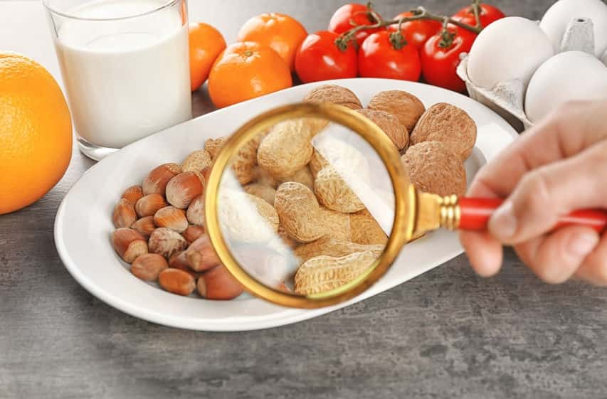 Продукты питания, наиболее часто вызывающие аллергию у взрослых и детей