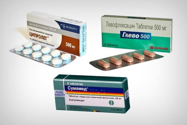 Антибиотики от ячменя