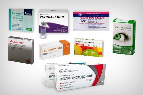 Противовоспалительные препараты при ретините