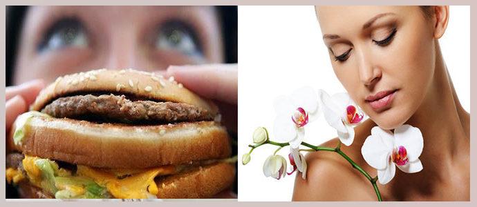Гормональные нарушения, неправильное питание
