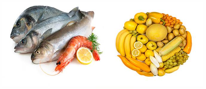Овощи и фрукты, свежевыжатые соки
