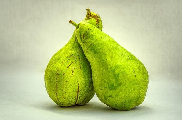зеленая груша