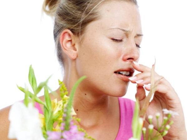 цветение, вдыхание пыльцы, насморк
