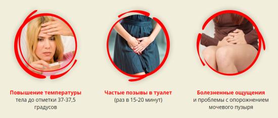 Если застудила мочевой пузырь, то какие симптомы и какое лечение?