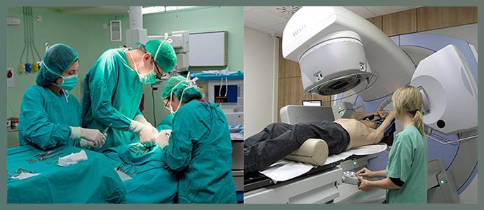 Лучевая терапия после оперативного лечения