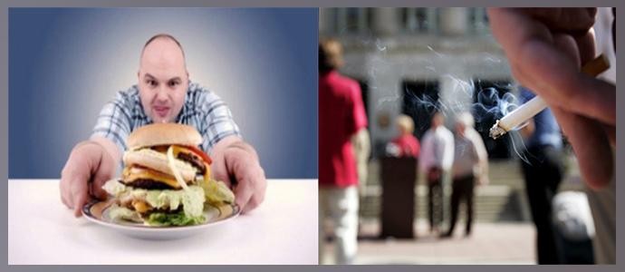 Нездоровое питание, вредные привычки