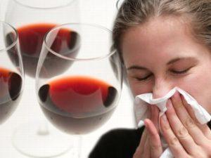 Аллергия от алкоголя